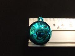 メッキボール25mm(ブルー)ばら売り(花笠)