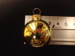 メッキボール30mm(ゴールド)ばら売り