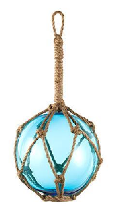 15cmフィッシュボールガラス製(ブルー)DE1158S