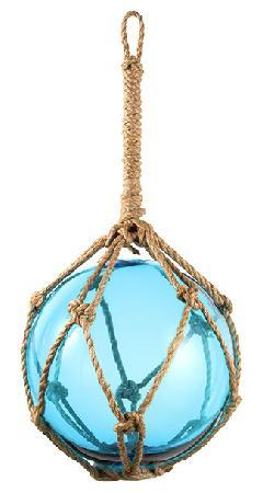 30cmフィッシュボールガラス製(ブルー)DE1158LL