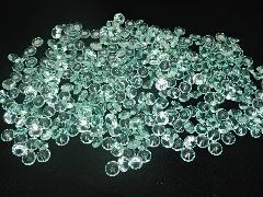 アクリルクリスタルアイス(ダイヤモンド型グリーン1cm約340粒)