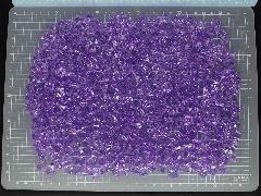 アクリルアイス・ディスプレイアイス・イミテーションアイス・透明石(S・約1cm)パープル250g約330粒