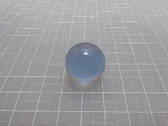 ビー玉・ガラス玉クリアカラー(ライトコバルト)約20mm