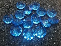 アクリルアイス(ダイヤ・ブルー)約2�p×250g(約72粒入)
