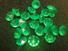 アクリルアイス(ダイヤ・グリーン)約2�p×250g(約72粒入)