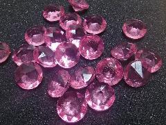 アクリルアイス(ダイヤ・ピンク)約2�p×250g(約72粒入)
