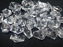 アクリルアイス・イミテーションアイス・ディスプレイアイス(L)約4�p×250g(約30粒入) クリア