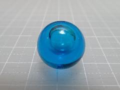 バブルマーブル17mm×130粒 ブルー