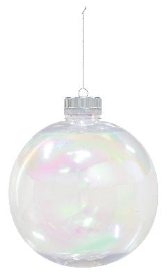 クリスマスボール(オーロラクリア200mm)PET製OXM1437