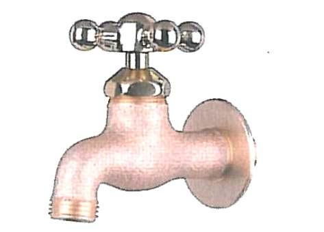 真鍮スタンダードフォーセット(蛇口)