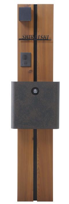 ウェルカムピラー機能門柱 モード K11型