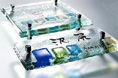 フュージングガラス表札C