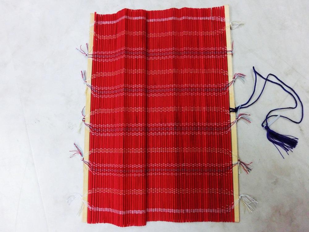 カラー筆巻き [赤 (大)] 30×45�p