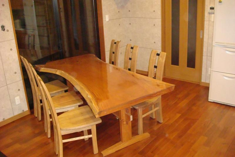 天然木 テーブル 椅子セット