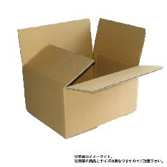 ダンボール箱「ミニW」60サイズ 260mm(長さ)×167mm(幅)×135mm(深さ) 材質:K6W