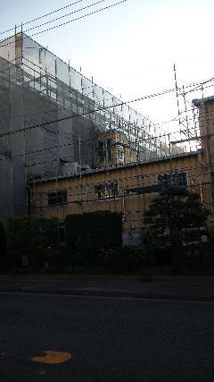 神奈川県横浜市金沢区事務所塔及び作業工場塗装工事
