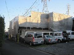 相模原市中央区 戸建て改修塗装工事足場