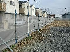 神奈川県海老名市社家足場仮囲い工事