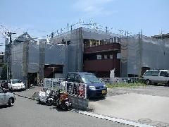 横浜市都筑区店舗兼住宅塗装 防水補修現場