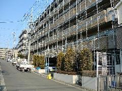 神奈川県横浜市マンション集合住宅塗装洗浄足場工事