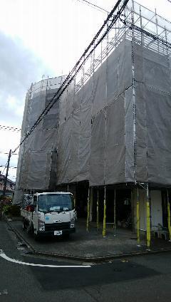 神奈川県 相模原市 大規模修繕足場施工工事