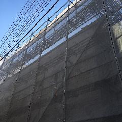 神奈川県大和市塗装用足場改修工事