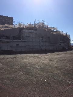 神奈川県秦野市体育館外部塗装 改修工事