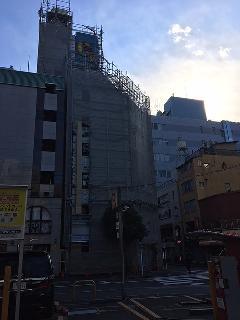 東京都渋谷区10階建て塗装改修工事