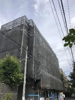 神奈川県藤沢市マンション塗装工事