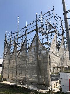 横浜市新築足場工事