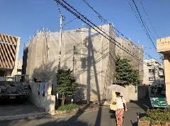 神奈川県大和市一般住宅塗装足場工事