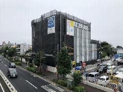 神奈川県相模原市大規模改修足場工事防音シート