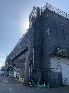 神奈川県藤沢市工場塗装工事