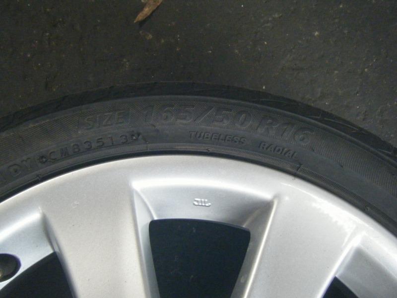 ダイハツ ムーブ タイヤ交換 女性整備士 整備士女子 扁平タイヤ
