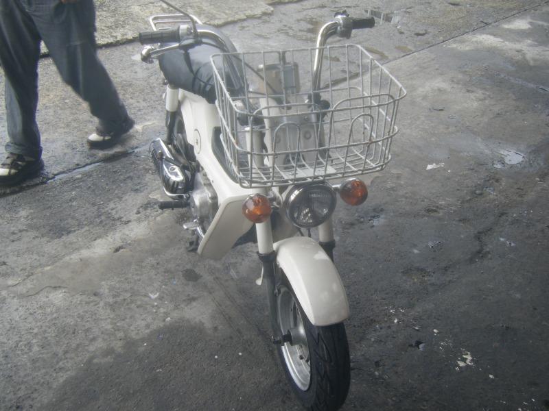 橋本市 原付 バイク タイヤ交換