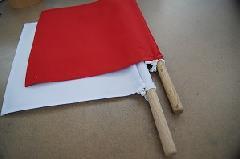 剣道用審判旗(紅白)