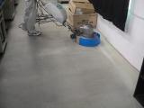夏休み中にLAN教室のカーペット清掃をしました