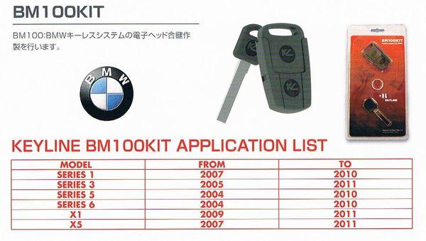 外国産車 (BMW) イモビライザー複製