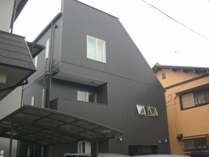 東京都練馬区 新築住宅の施工