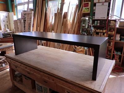 テーブル施工