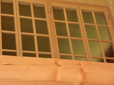 広島市の新築工事中連窓