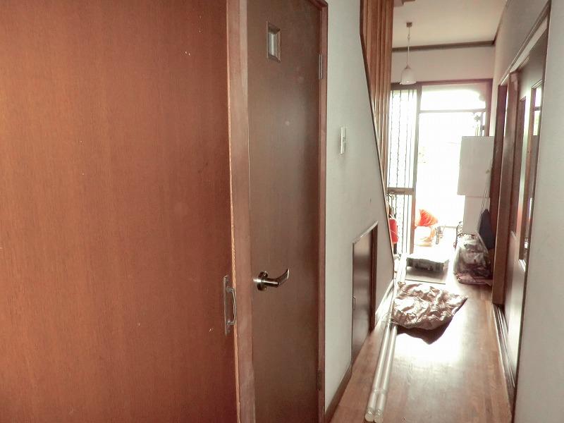 広島市のリフォームトイレ開き戸