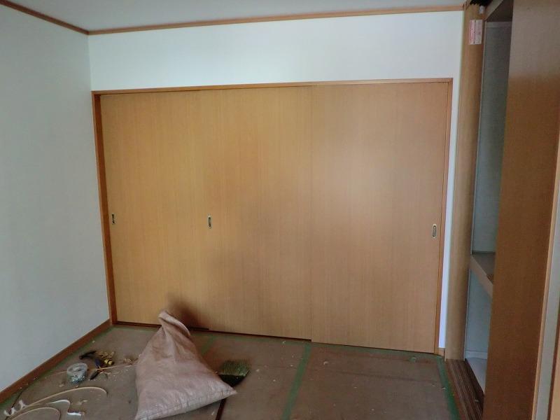 広島市のリフォーム工事 リビング