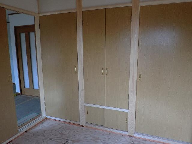 広島市の新築工事、和室周り