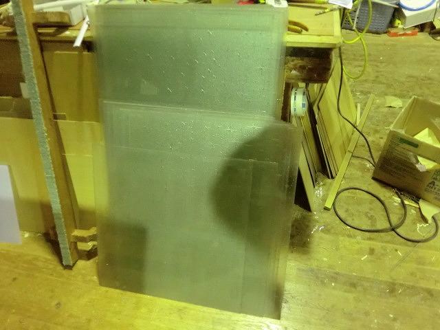 在来の建具のガラス