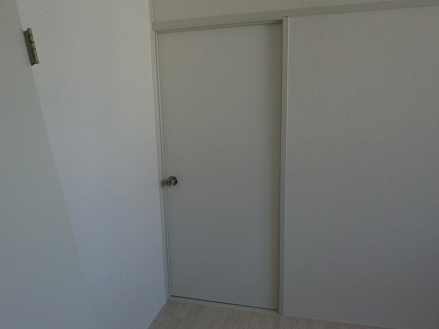 広島市の借家開き戸