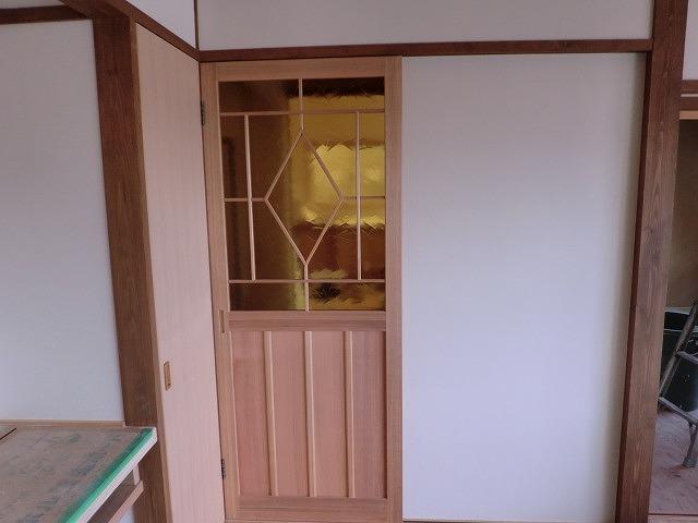 広島の新築工事 無垢工事