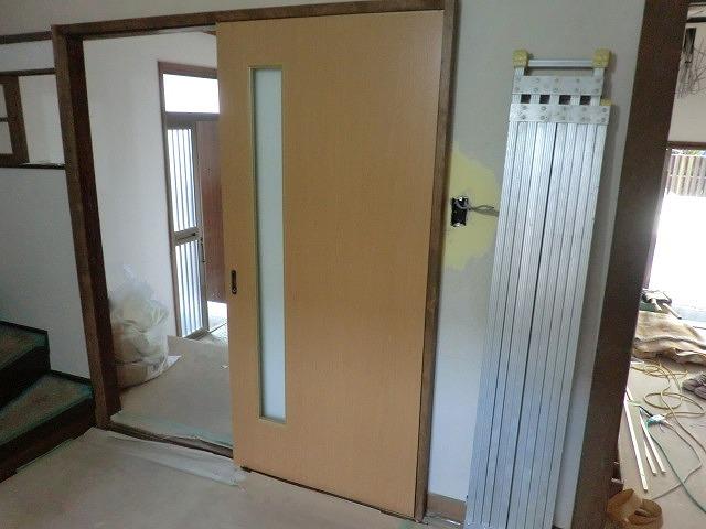 広島市の借家改装工事