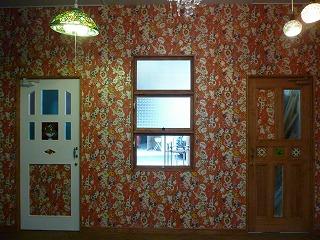 porta carinaショップの内装ドア
