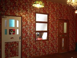 モデルルームのかわいい内装とドア